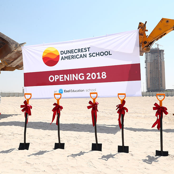 Dunecrest American School Breaks Ground in Dubai